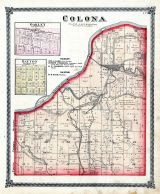 Colona, Oakley, Dayton, Henry County 1875